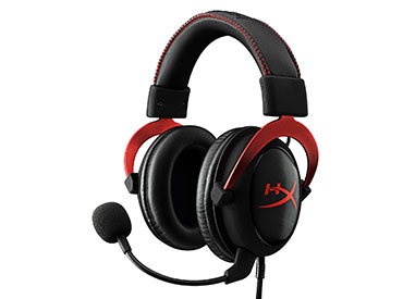 Auriculares con Micrófono Kingston HyperX™ Cloud II - Rojos