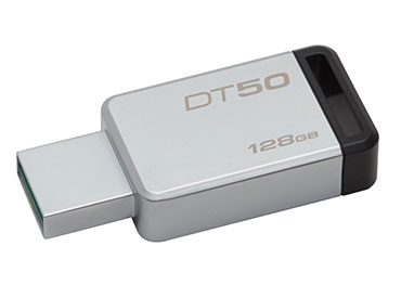 Pen Drive Kingston DataTraveler 50 128GB USB 3.1 Gen 1