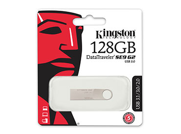 Pen Drive Kingston DataTraveler SE9 G2 128GB USB 3.0