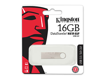 Pen Drive Kingston DataTraveler SE9 G2 16GB USB 3.0