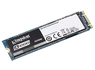 Disco Kingston A1000 SSD 480GB M.2 2280 - PCI Express 3.0 x2 (NVMe™)