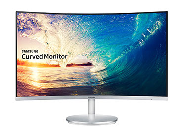 "Monitor LED Samsung Curvo 27"" LC27F591 con Active Crystal Color"