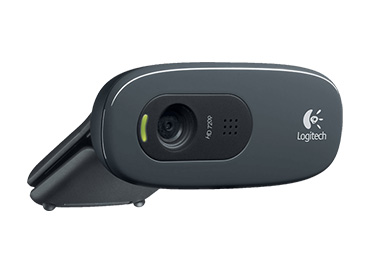 Logitech HD Webcam C270 - 720P con Micrófono integrado