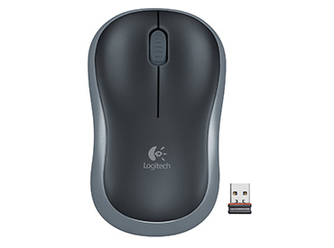 Mouse Logitech Wireless M185 Gris Oscuro