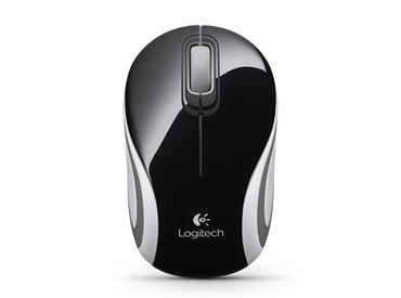 Mini Mouse Logitech Wireless M187 Negro