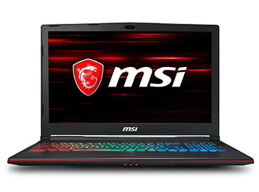 "Notebook MSI GP63 Leopard 8RD Intel Core i5 - 8GB - 1TB - 15,6"" - GTX 1050Ti"