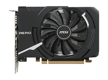 Placa de video MSI RX 550 AERO ITX 2G OC
