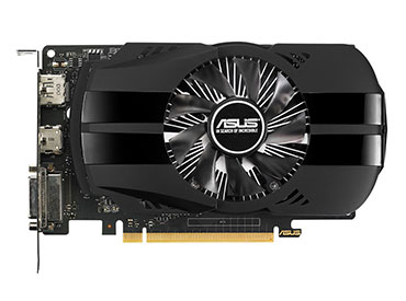 Placa de Video ASUS GeForce® GTX 1050Ti 4GB PHOENIX Fan Edition