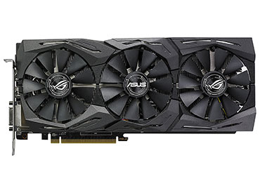 Placa de video ASUS ROG Strix Radeon RX 580 O8G Gaming OC Edition