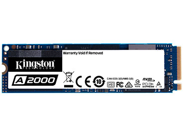 Disco Kingston A2000 SSD 250GB M.2 2280 - PCI Express 3.0 x4 (NVMe™)