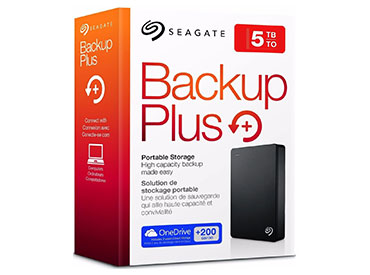 Disco Rígido portátil Seagate Backup Plus Portable 5TB