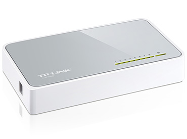 Switch TP-Link de 8 Puertos 10/100Mbps (TL-SF1008D)