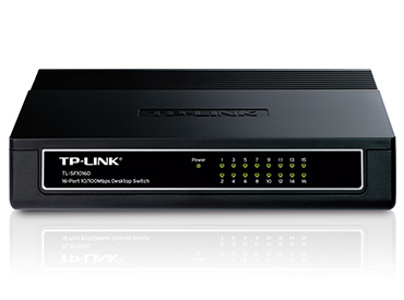 Switch TP-Link de 16 Puertos 10/100Mbps (TL-SF1016D)