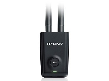 Adaptador de red USB wireless N TP-Link TL-WN8200ND de 300Mbps