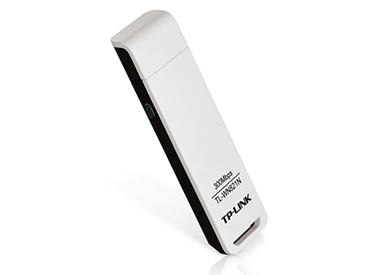 Adaptador de red USB wireless N TP-Link TL-WN821N de 300 Mbps