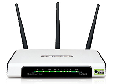 Router Wireless-N TP-Link (TL-WR941ND) - 3 Antenas desmontables
