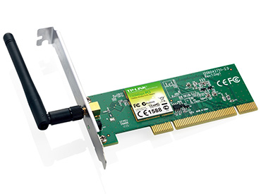 Placa de red Wireless N PCI TL-WN751ND de 150 Mbps