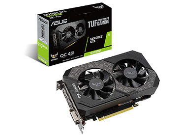 Placa de Video ASUS TUF Gaming GeForce® GTX 1650 SUPER™ OC Edition 4GB GDDR6