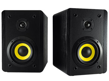 Parlantes Stereo Thonet & Vander VERTRAG BT™ Negro 32W RMS
