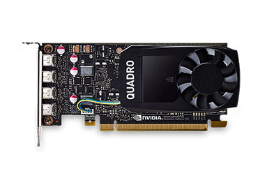 Placa de Video PNY NVIDIA® Quadro® P1000 - 4GB GDDR5