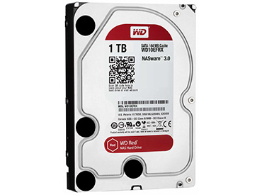Disco Rígido WD Red 1 TB SATA3 64MB Buffer (WD10EFRX)