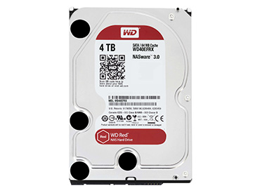 Disco Rígido WD Red 4 TB SATA3 64MB Buffer (WD40EFRX)