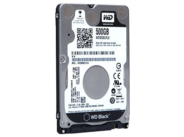 Disco Rígido para Notebook WD Black 500 GB SATA3 32MB Buffer (WD5000LPLX)