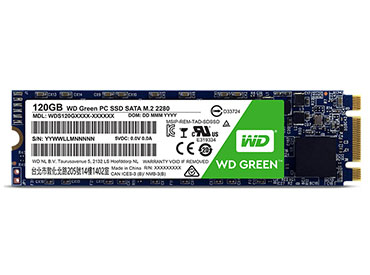 Disco WD Green PC SSD 120GB M.2 2280