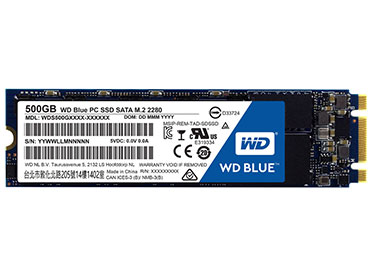Disco WD Blue PC SSD 500GB M.2 2280