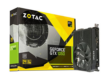 Placa de video ZOTAC GeForce® GTX 1050 Mini 2GB GDDR5